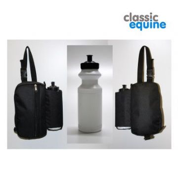 Saddle Bag with Bottles